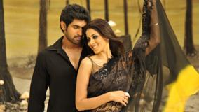 Genelia D'Souza And Rana Daggubati In Black Dress In Naa Ishtam