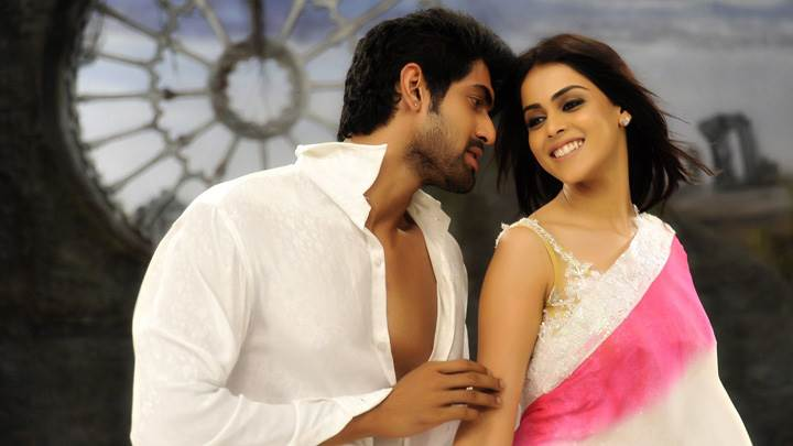 Genelia D'Souza And Rana Daggubati In Ramantic Mood In Naa Ishtam