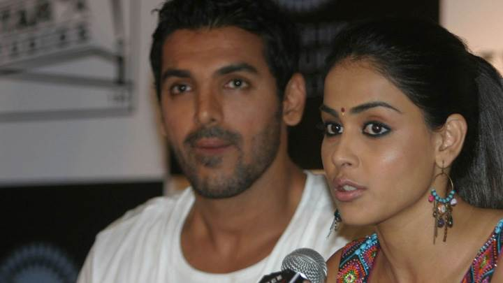 Genelia D'souza And John Abraham On Stage