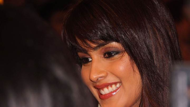 Genelia D'souza Cute Smiling Face Closeup