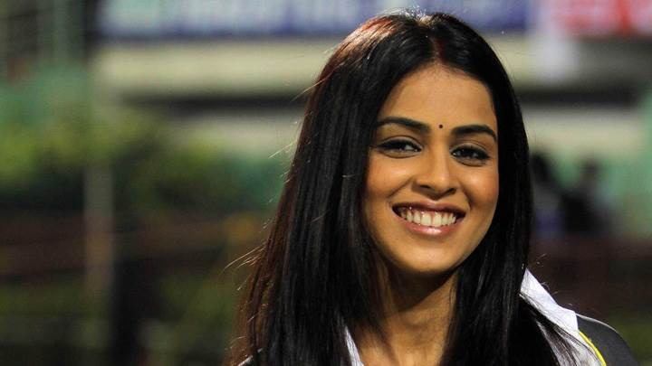 Genelia D'souza Sweet Smiling Face At Cclt