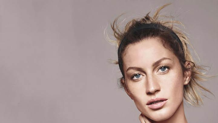 Gisele Bundchen Face Closeup At Esprit Summer