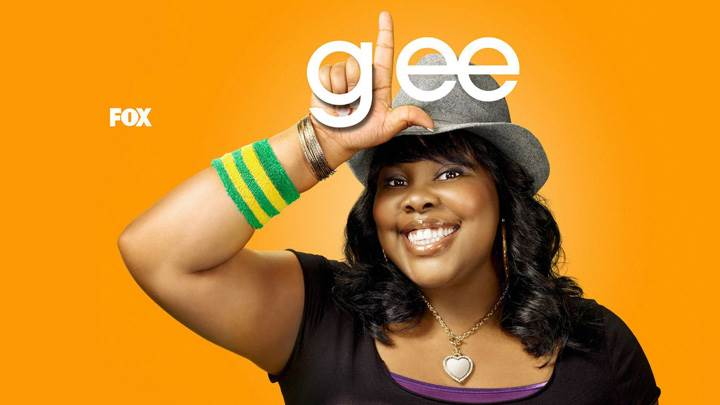 Glee – Amber Riley As Mercedes Jones Smiling