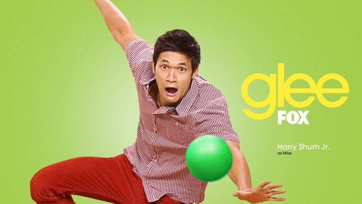 Glee – Harry Shum Jr. As Mike Chang