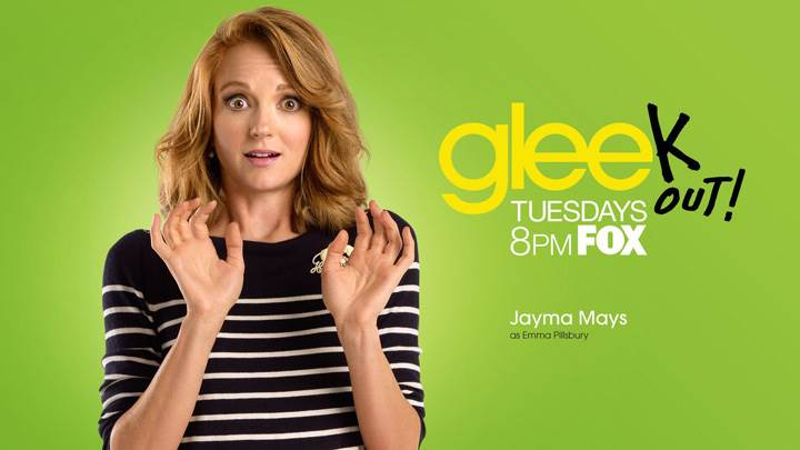Glee – Jayma Mays As Emma Pillsbury