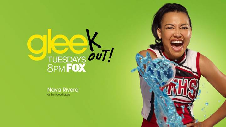 Glee – Naya Rivera As Santana Lopez