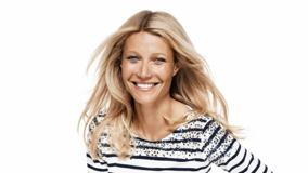 Gwyneth Paltrow Laughing At Lindex Spring 2012