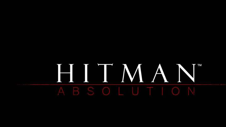 Hitman Absolution – Logo On Black Background