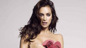 Irina Shayk Looking Front Photoshoot