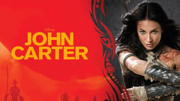 John Carter – Lynn Collins Sword In Hand