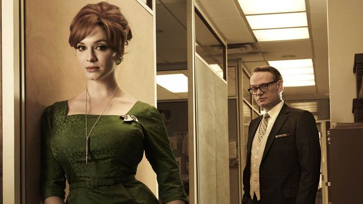 Mad Men – Christina Hendricks & Jarrod Harris