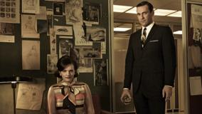 Mad Men – Elisabeth Moss & Jon Hamm