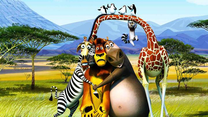 Madagascar 3- Europe's Most Wanted – Enjoying In Greenery