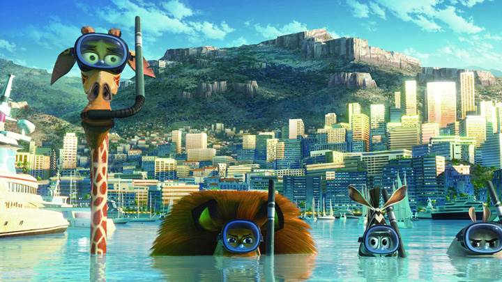 Madagascar 3- Europe's Most Wanted – Going Underwater