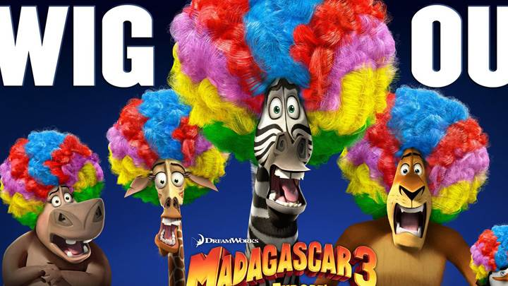 Madagascar 3- Europe's Most Wanted – Wig Out