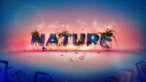 Nature Typography