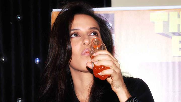 Neha Dhupia Launches Big Cola And Drinking