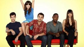 New Girl – Characters Sitting On Sofa