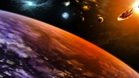 Planets Hit By Asteroids