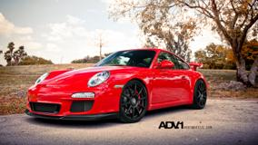 Porsche GT3 ADV1 In Red Side Pose