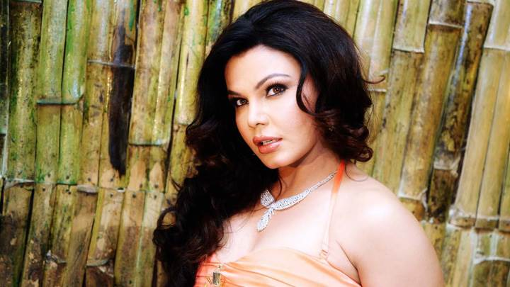 Rakhi Sawant Looking At Camera Side Pose Photoshoot