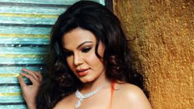 Rakhi Sawant Looking Down And Visits Charisma Spa