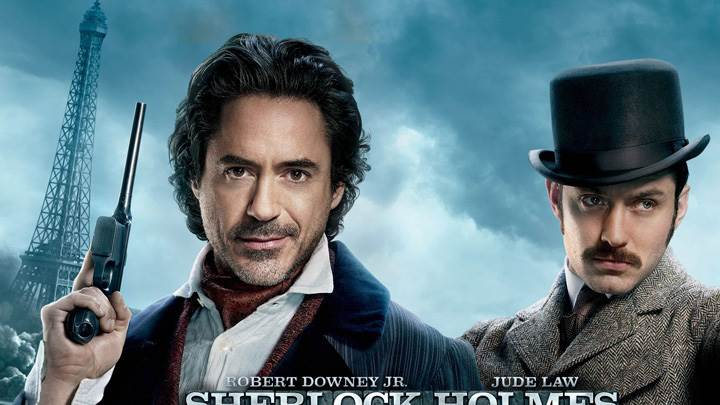 Sherlock Holmes- A Game of Shadows – Gun In Hand