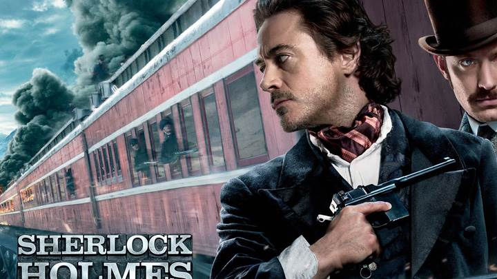 Sherlock Holmes- A Game of Shadows – Outside The Train