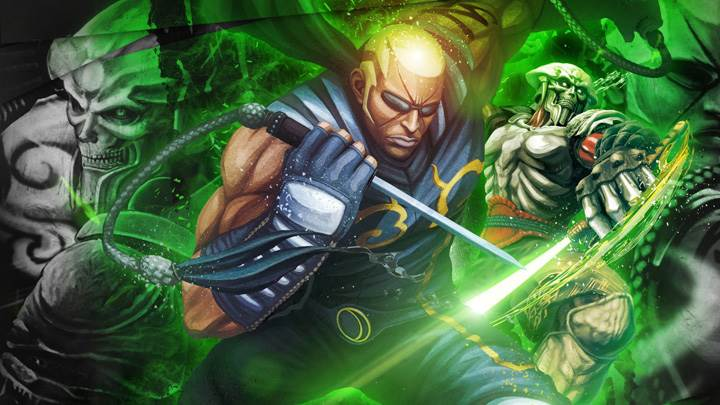 Street Fighter X Tekken – Raven And Yoshimitsu