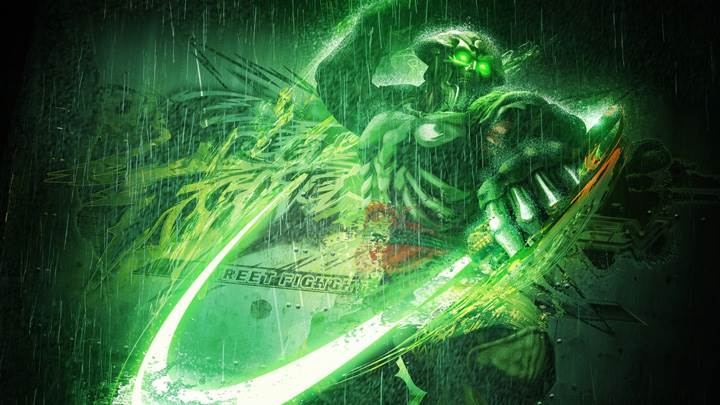 Street Fighter X Tekken – Yoshimitsu With Green Electricity