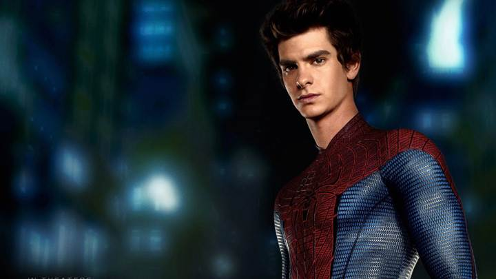 The Amazing Spider-Man – Andrew Garfield As Spider-Man Back Pose