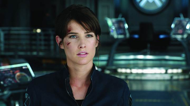 The Avengers – Cobie Smulders In Black Dress