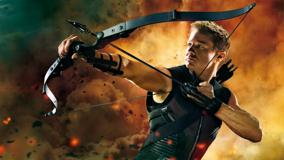 The Avengers – Hawkeye Aiming In The Avengers