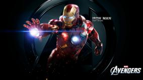 The Avengers – Iron Man Tony Stark N Black Background