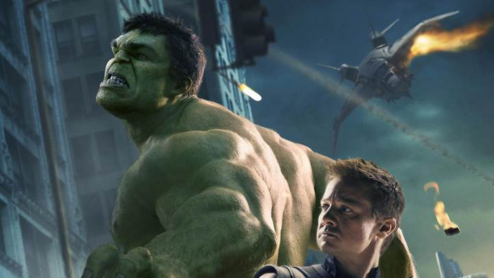 The Avengers – Jeremy Renner And Mark Ruffalo