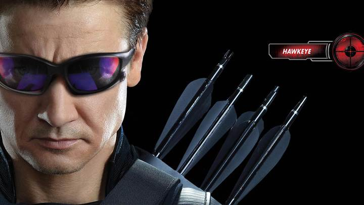 The Avengers – Jeremy Renner As Hawkeye Wearing Goggles