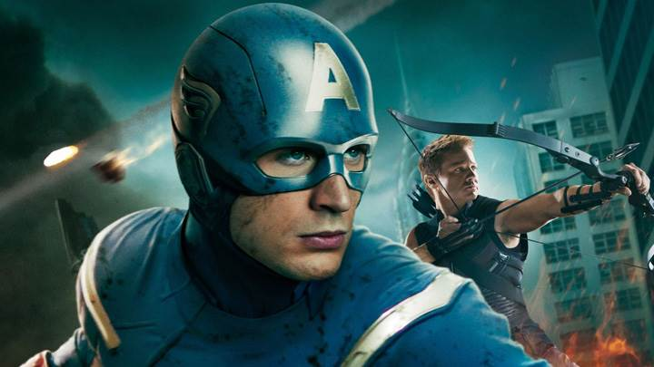 The Avengers – Jeremy Renner Behind The Captain America