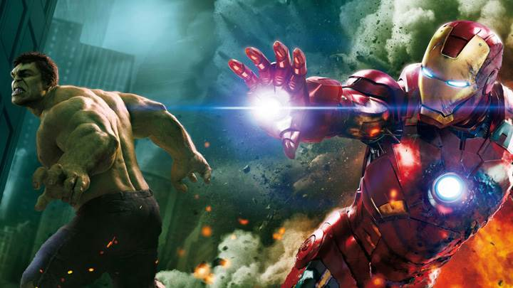 The Avengers – Mark Ruffalo And Iron Man