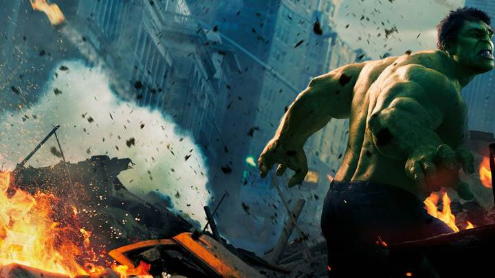 The Avengers – Mark Ruffalo As The Hulk Screaming