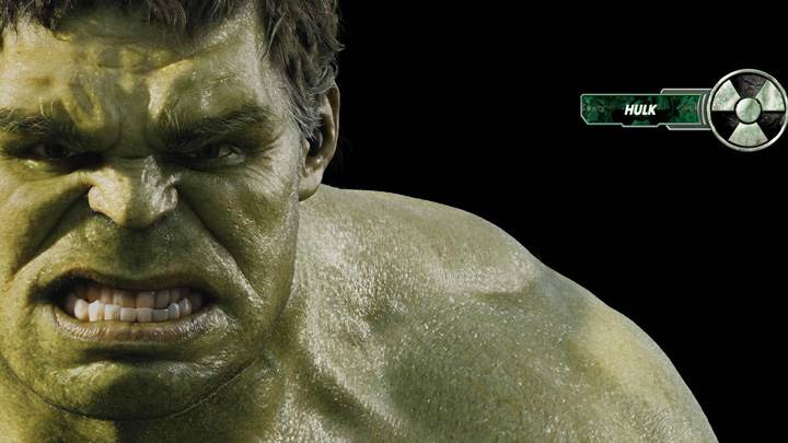 The Avengers – Mark Ruffalo As The Hulk Face Closeup