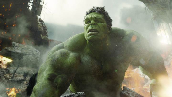 The Avengers – Mark Ruffalo As The Hulk Looking Front