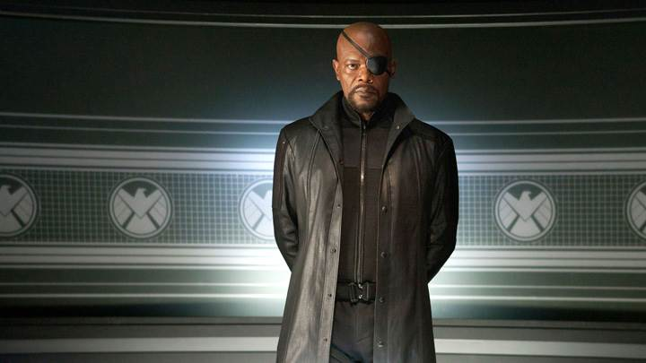 The Avengers – Samuel L. Jackson As Nick Fury In Black Dress