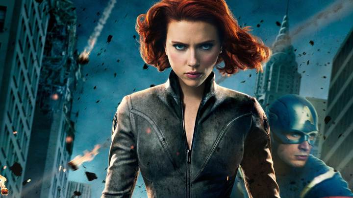 The Avengers – Scarlett Johansson Black Widow Looking Front