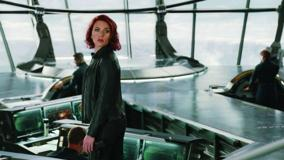 The Avengers – Scarlett Johansson Looking At Side