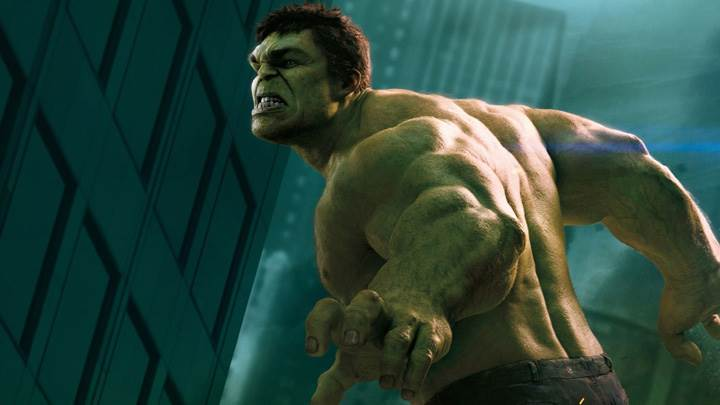 The Avengers – Mark Ruffalo As The Hulk Screaming Side Pose