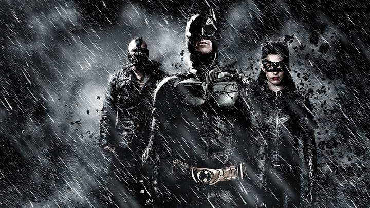 The Dark Knight Rises – Three In Rainy Night