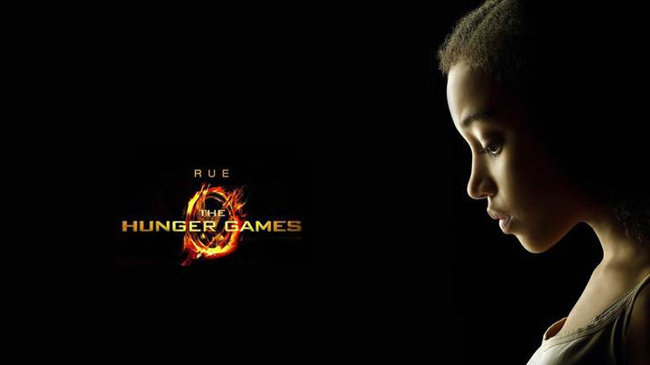 The Hunger Games – Amandla Stenberg As Rue Sad Side Face
