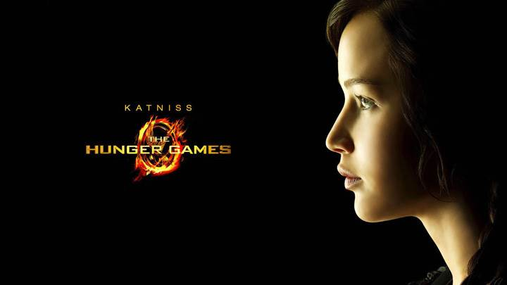 The Hunger Games – Jennifer Lawrence As Katniss Everdeen Side Face
