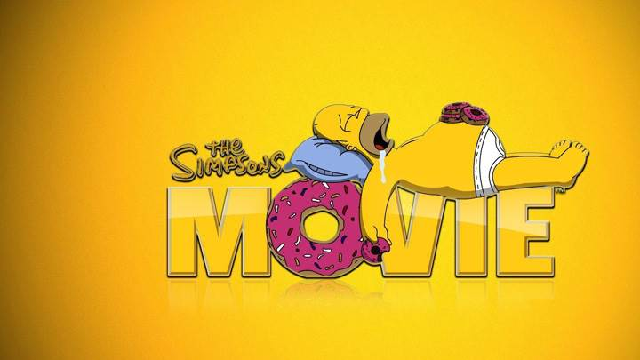 The Simpsons Movie – Yellow Background