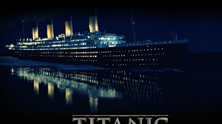 Titanic – Titanic Ship In Night